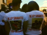 Vigil for Shantel Davis